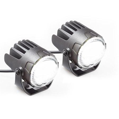 LED Abblendscheinwerfer Low-Beam Paar matt schwarz