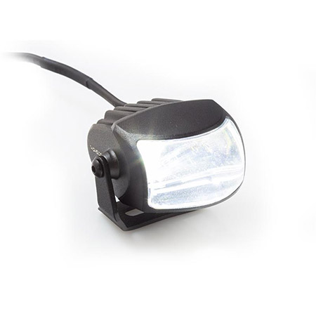 LED Fernscheinwerfer HI-Beam mit Halterung, matt schwarz
