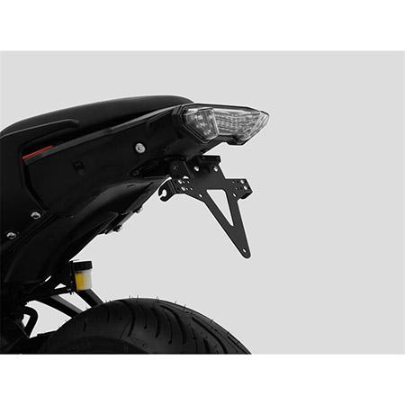 Kennzeichenhalter Yamaha Tracer 7 BJ 2021-22 / Tracer 700 BJ 2021-22 komplett