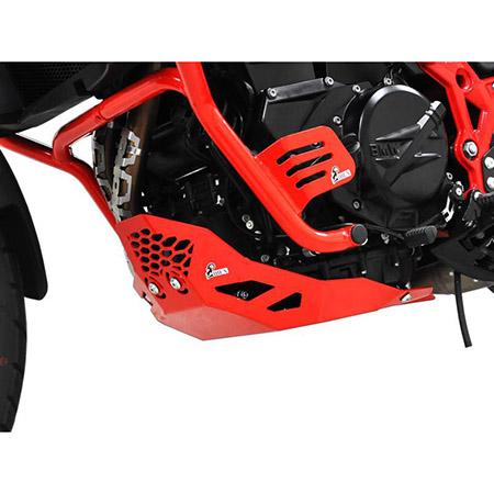 Motorschutz BMW F 650 / F 700 / F 800 GS BJ 2008-17 verstärkt rot