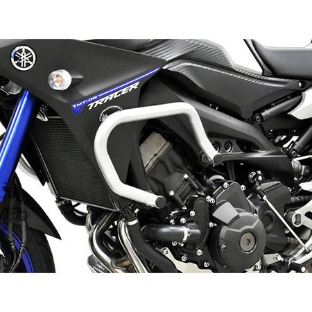 Sturzbügel Yamaha MT-09 Tracer BJ 2015-18 silber