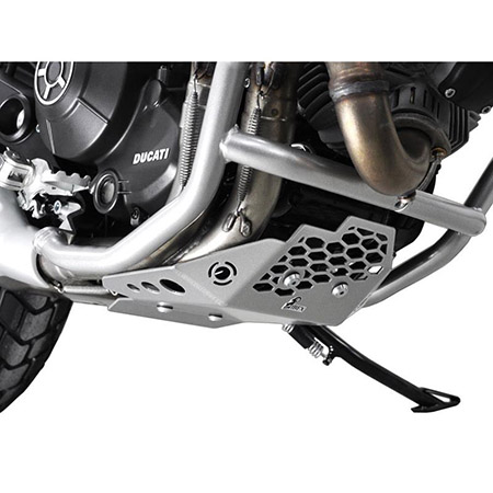 Motorschutz Ducati Scrambler 800 BJ 2015-17 silber