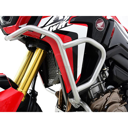 Sturzbügel Verkleidung Honda CRF 1000 L Africa Twin BJ 2016-18 silber