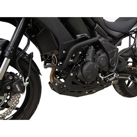 Motorschutz Kawasaki Versys 650 BJ 2015-18 schwarz