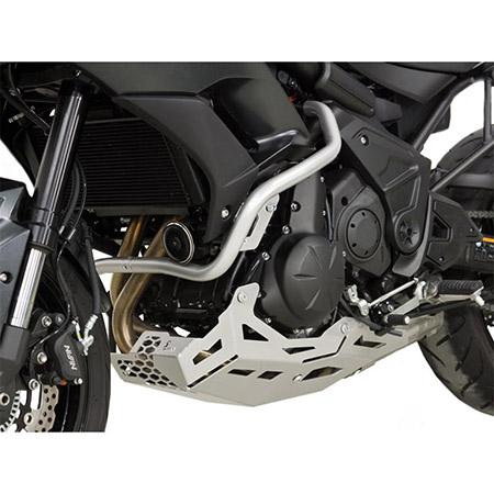 Motorschutz Kawasaki Versys 650 BJ 2015-18 silber