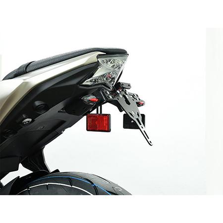 Halter-Set für Reflektor am Blinker M8 E4 Norm Euro 4  Kennzeichenhalter Paar