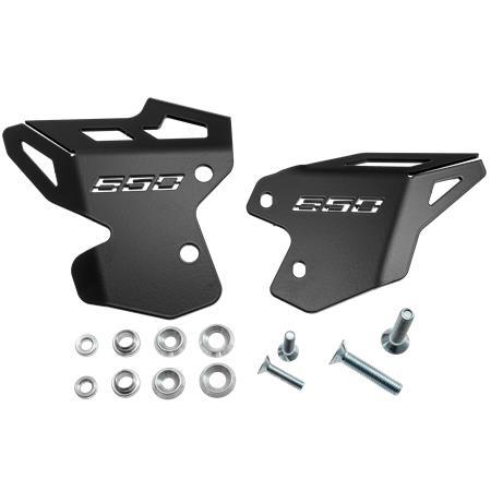 Fersenschoner Fersenschutz Kawasaki Z 650 BJ 2017-20 Black