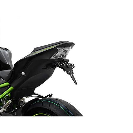 ZIEGER Pro Kennzeichenhalter Kawasaki Z 900 BJ 2017-21 / Z H2 BJ 2020-21