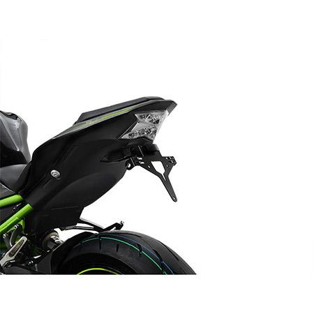 ZIEGER Kennzeichenhalter Kawasaki Z 900 BJ 2017-21 / Z H2 BJ 2020-21
