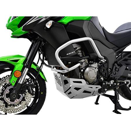 Sturzbügel Kawasaki Versys 1000 BJ 2015-18 silber