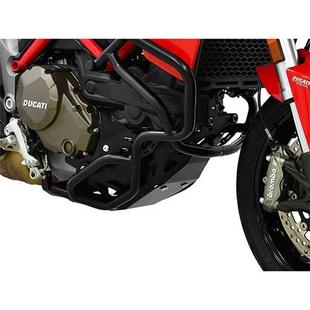 Motorschutz Ducati Multistrada 1200 BJ 2015-17 schwarz