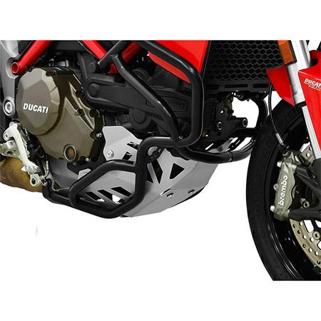 Motorschutz Ducati Multistrada 1200 BJ 2015-17 silber