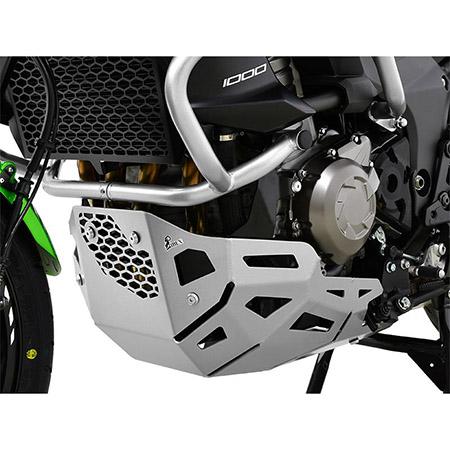 Motorschutz Kawasaki Versys 1000 BJ 2015-18 silber
