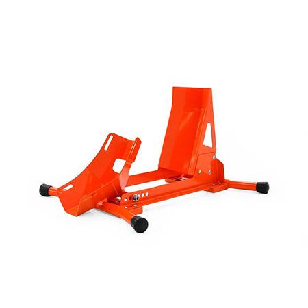 Montageständer Vorderrad Wippe orange