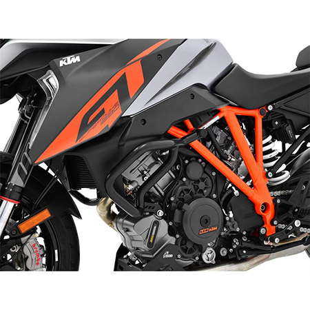 Sturzbügel KTM 1290 Super Duke GT BJ 2016-18 / 1290Super Duke R BJ 2014-18 schwarz