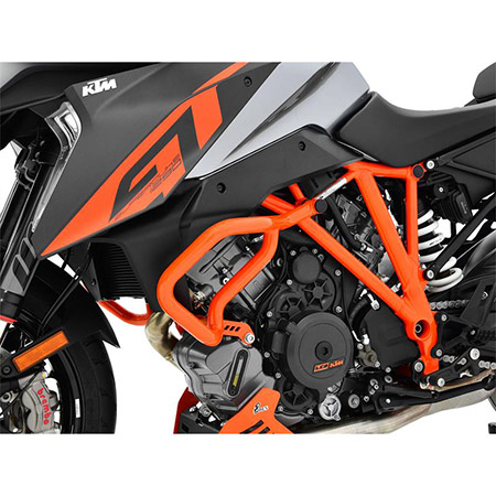 Sturzbügel KTM 1290 Super Duke GT BJ 2016-18 / 1290 Super Duke R BJ 2014-18 orange