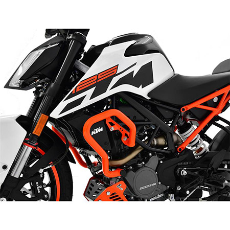 Sturzbügel KTM 125 Duke BJ 2017-18 orange