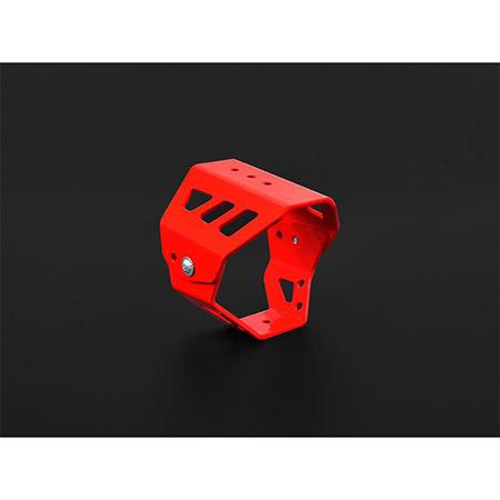 Gehäuseschutz für LED-Abblendscheinwerfer IBEX rot