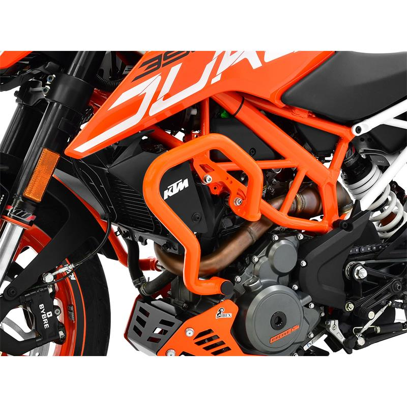 ZIEGER Sturzbügel KTM 390 Duke BJ 2017-20 orange