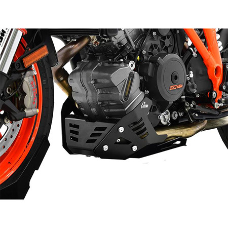 Motorschutz KTM 1290 Super Duke R BJ 2014-19 / 1290 Super Duke GT BJ 2016-19 schwarz