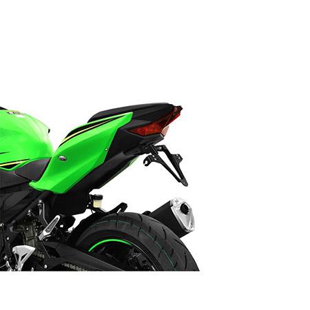 Kennzeichenhalter Kawasaki Ninja 400 (EX400G) Baujahr 2018-19 / Z 400 (ER400D) Baujahr 2019 Highsider