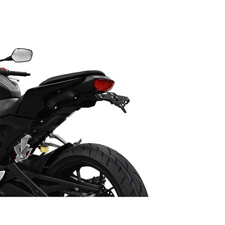 ZIEGER Pro Kennzeichenhalter Honda CB 125 R BJ 2018-20 für 125er Kennzeichengröße