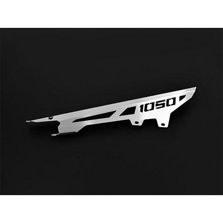 Kettenschutz KTM 1050 Adventure BJ 2015-16 Logo silber
