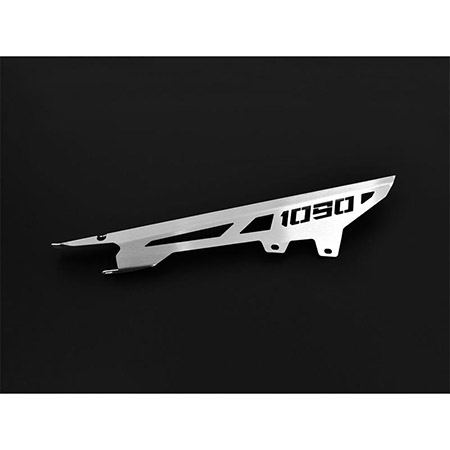 Kettenschutz KTM 1090 Adventure BJ 2017-18 Logo silber