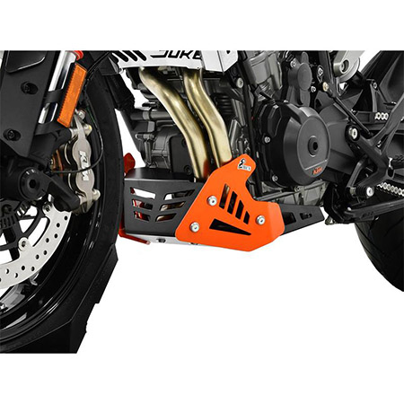 ZIEGER Motorschutz KTM 790 Duke BJ 2018-20 orange