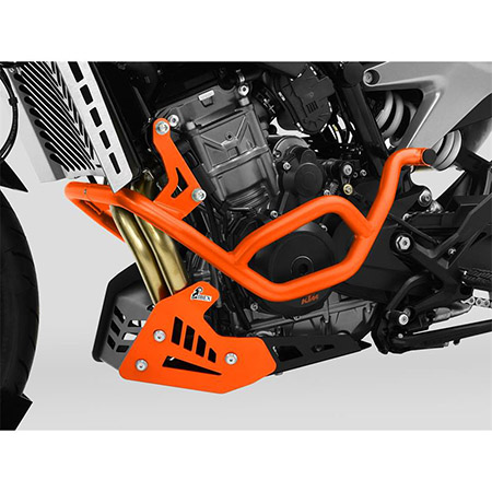 ZIEGER Sturzbügel KTM 790 Duke BJ 2018-20 / 890 Duke BJ 2020-21 orange