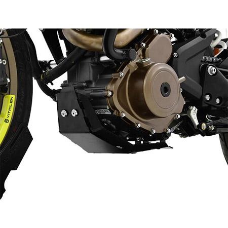 Motorschutz Husqvarna 401 Vitpilen BJ 2018-19 schwarz
