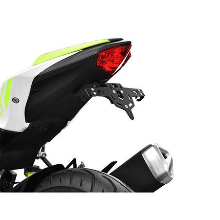 ZIEGER Pro Kennzeichenhalter Kawasaki Z 125 BJ 2019-20 / Ninja 125 BJ 2019-20