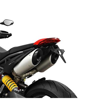 Kennzeichenhalter Ducati Hypermotard 950 ab  BJ 2019- IBEX