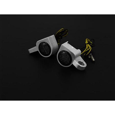 LED Armaturenblinker Harley Davidson SPORTSTER Modelle bis 2013 Typ 4 silber