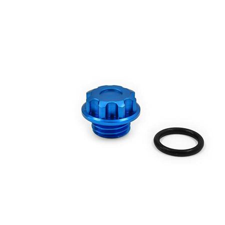 ZIEGER Öleinfüllverschlussschraube Typ2 M20x2,5 blau