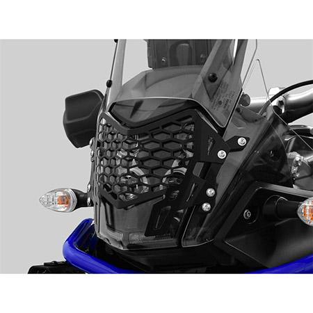 ZIEGER Scheinwerferschutz Yamaha Ténéré 700 BJ 2019-21 schwarz