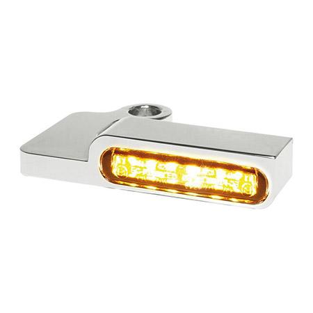 LED Armaturen Blinker SPORTSTER Modelle bis 2013 silber
