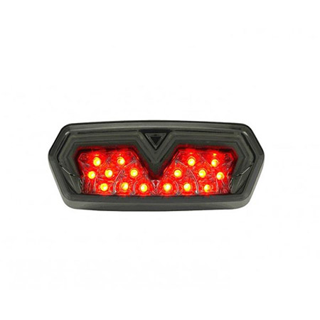 LED Rücklicht Honda MSX 125 BJ 2013-17 / CB / CBR 650 F BJ 2014-18 / CTX 700 N BJ 2013-16 / NC 750 S / X BJ 2016-19 getönt E-geprüft