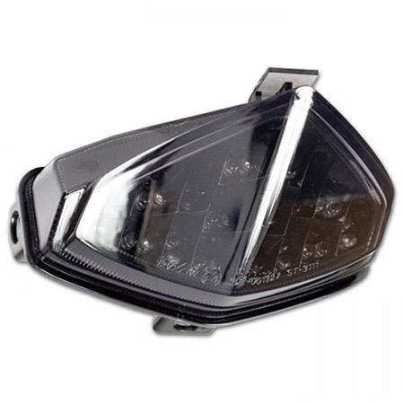LED Rücklicht Honda CB 600 F Hornet BJ 2011-13 / CBR 600 F BJ 2011-13 / CB 1000 R BJ 2008-15 getönt E-geprüft