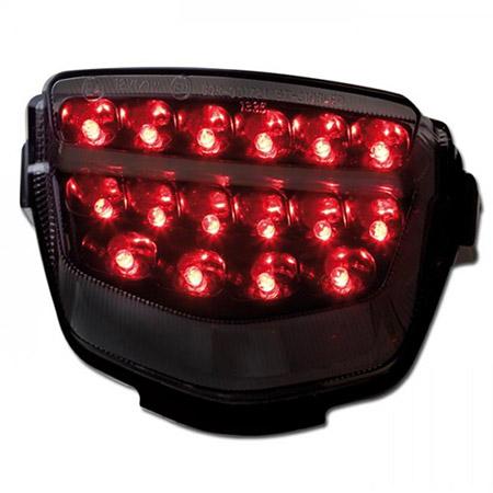 LED Rücklicht Honda CB 1000 R BJ 2008-15 / CBR 1000 RR BJ 2008-15 / VFR 800 X Crossrunner BJ 2011-18 getönt E-geprüft