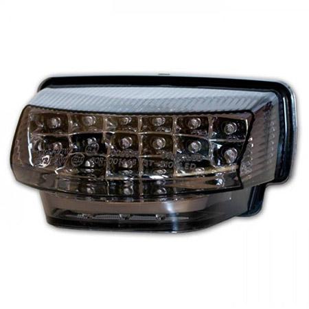 LED Rücklicht Honda CBR 600 RR BJ 2007-12 getönt E-geprüft mit Kennzeichenbeleuchtung