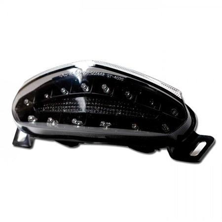 LED Rücklicht Kawasaki ER-6 f / n  BJ 2009-11 getönt E-geprüft