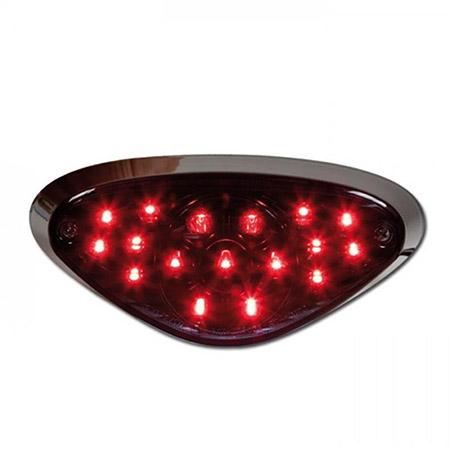 LED Rücklicht Kawasaki W650 BJ 1999-06 / W800 BJ 2011-14 getönt E-geprüft
