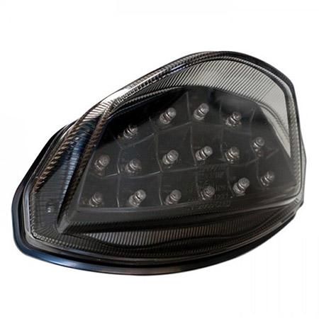 LED Rücklicht Suzuki GSR 750 BJ 2011-16 getönt E-geprüft