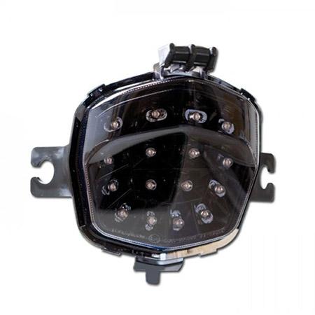 LED Rücklicht Suzuki GSF 650 Bandit BJ 2009-13 / GSF 650 S Bandit BJ 2009-16 / GSF 1250 BJ 2007-11 / GSF 1250 S Bandit BJ 2007-10 getönt E-geprüft
