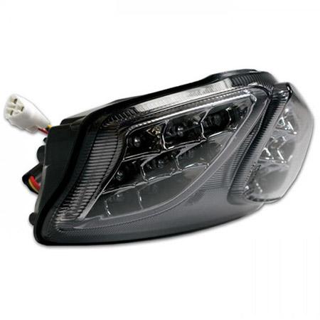 LED Rücklicht Suzuki GSX-R 1000 BJ 2009-15 / GSX-R 600 / 750 BJ 2008-2018 getönt E-geprüft