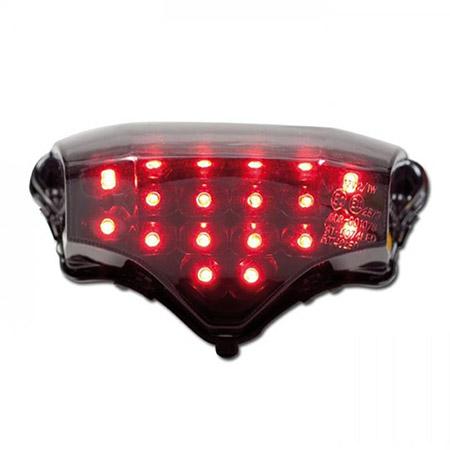 LED Rücklicht Yamaha FZ6 Fazer BJ 2004-10 getönt E-geprüft