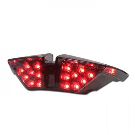 LED Rücklicht MV Agusta Brutale 920 BJ 2011-12 / Brutale 990 R BJ 2010-11 / Brutale 1000 R BJ 2010-12 / Brutale 1090 R / RR BJ 2010-12 getönt E-geprüft