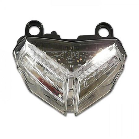 LED Rücklicht Ducati 848 / EVO / 1098 S/R klar E-geprüft