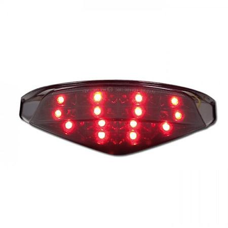 LED Rücklicht Ducati Monster 696 BJ 2008-14 /Monster 795 BJ 2010-14 / Monster 796 BJ 2010-14 / Monster 1100 BJ 2009-13 getönt E-geprüft